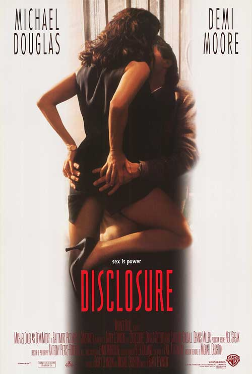"""Disclosure"" - the movie poster."