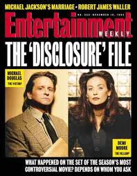 The Disclosure File - the most controversial movie of that time.