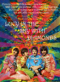"""Lucy in the Sky with Diamonds"" - the Beatles Album Cover."