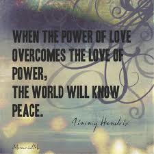 The Love of Power or the Power of Love - it is for you to decide what's more important of the two!