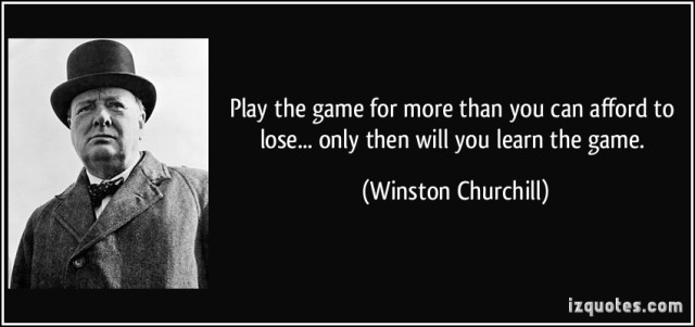 """Play the Game and play it fairly and justly."" a quote on having and maintaining one's sporting spirit that helps in leading a cheerful life. Beautiful and memorable lines from Winston Churchill."