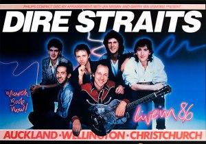 """Dire Straits"" - a very popular boy-band."