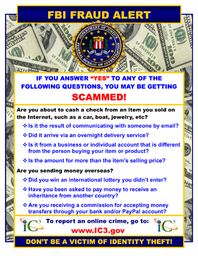 Email Scamming Alert!