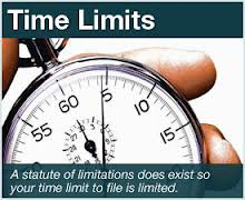 The Criminal Statute of Limitations - the clock is ticking.....hurry, hurry!