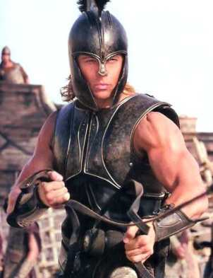 Achilles - one of the bravest and most celebrated warriors in Greek Mythology (Photo Credit: http://www.comicvine.com/forums/battles-7/captain-america-movie-version-vs-achilles-629125/)