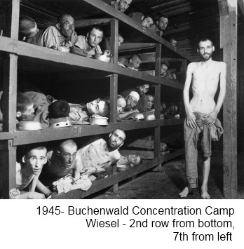 "Buchenwald - Horrors of the Holocaust and Forms of Humiliation. (Photo Credit: Holocaust Survivors and Remembrance Project: ""Forget You Not""™)"