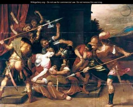 Samson and Delilah - the capture of Samson  (Photo Credit: wikigallery.org)