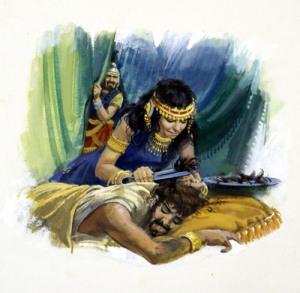 The Treachery and Betrayal of Delilah (Photo Credit: samson-delilah -blog.proofdirectory.org)