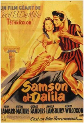 Samson and Delilah (1949 movie poster)