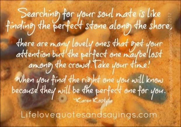 We keep searching for a soul-mate all our lives - never realizing that we always had one! Right below our nose, in fact.
