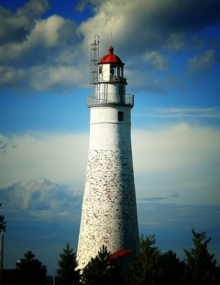 "The Lighthouse - an Evergreen Beacon of ""Good Hope"" in a Raging Sea."