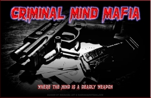 The world of criminals and violent crime - the world of the mafia dons.