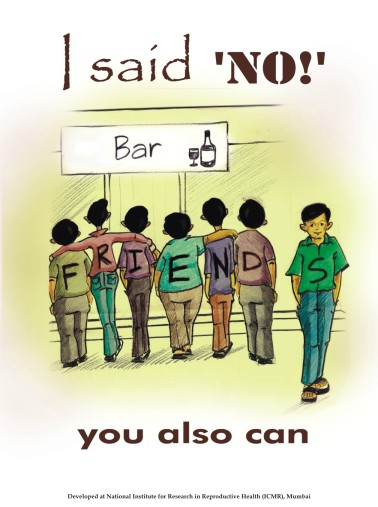 "Peer Pressure - learn to say, ""NO!"""