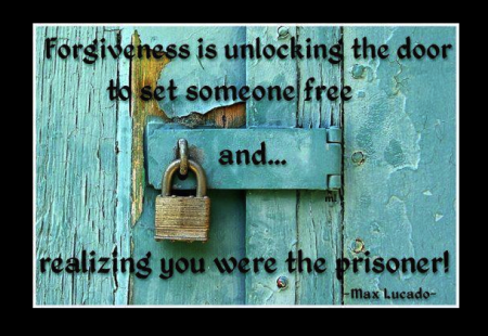 Forgiveness is about setting oneself free from the shackles of hatred, anger and bitterness. (Photo Credit: http://sinisiambalis.wordpress.com/tag/forgiveness-quotes/)