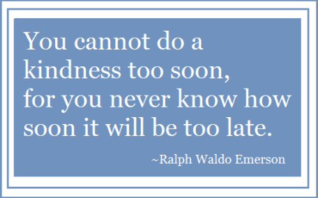 A beautiful quote by Ralph Waldo Emerson.