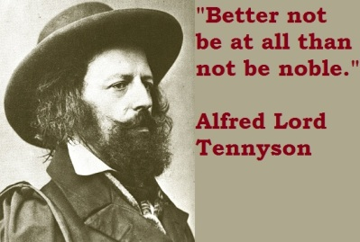 A beautiful quote  from Alfred, Lord Tennyson.