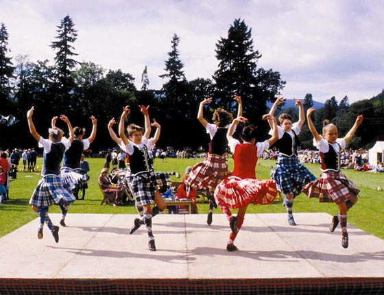 The Highland Dancers - from Scotland.