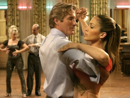 """Scenes from the movie, """"Shall we Dance?"""" starring Richard Gere, Susan Sarandon and Jennifer Lopez."""
