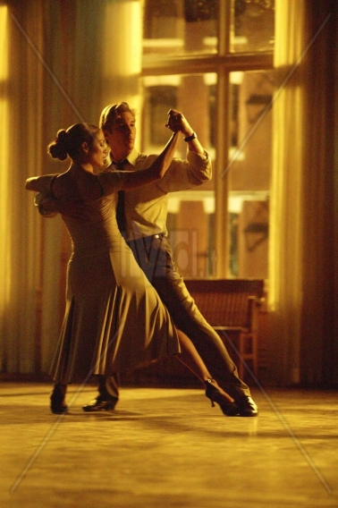 "Scene from the movie, ""Shall we Dance?"""