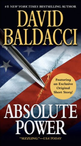 """Absolute Power"" - a novel by David Baldacci"