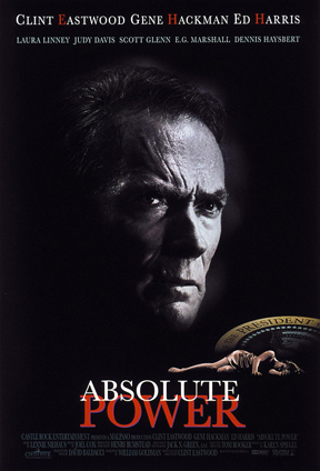 """Absolute Power"" - a movie starring Clint Eastwood and Gene Hackman."