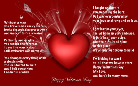 A Beautiful Valentine's Quote.