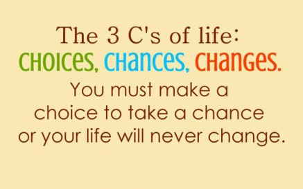 Life is about making the Right Choices!