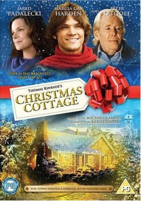 """Christmas Cottage"" - DVD Cover"
