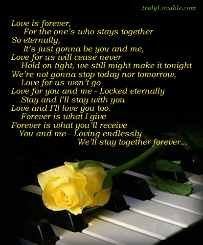 Love is Forever!