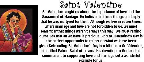 Prayer to Saint Valentine