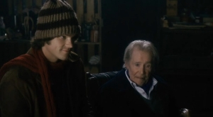 """Christmas Cottage"" - Scene from the Movie - Thomas and Glen Wesman."