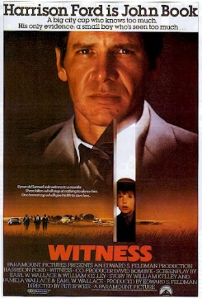 """Witness"" - a movie starring Harrison Ford."