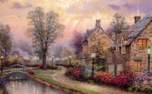 Lamplight Lane - River Street Cottage