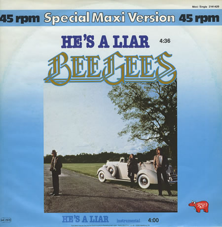 ''He's a Liar'' by Bee Gees