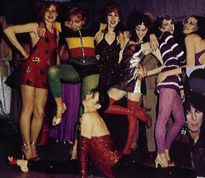 The Fashion Pack at Studio 54