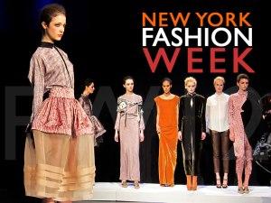 New York Fashion Week - Fall-Winter 2012