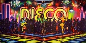Seventies Dancefloor Backdrop