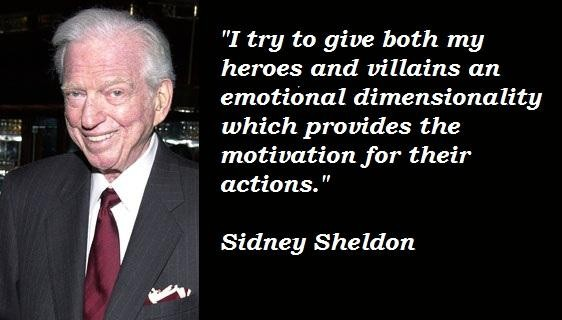 A quote from Sidney Sheldon