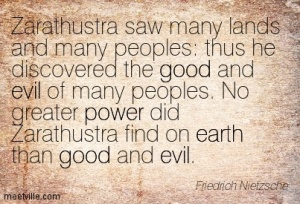 """Thus Spake Zarathustra"" by Friedrich Nietzche"