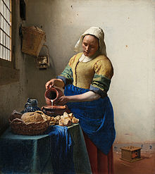 The Milkmaid (c. 1658) (Photo credit: Wikipedia)