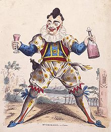 Grimaldi as Clown, c. 1810. (Photo Credit: Wikipedia)