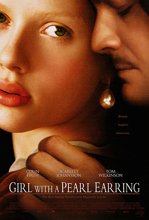 """Girl with a Pearl Earring"" (2003) starring Colin Firth and Scarlett Johansson"