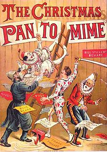 The Pantomime in 1890