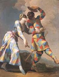 Pierrot and Columbine