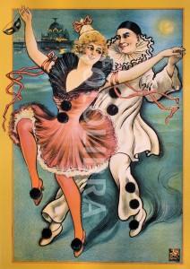 Pierrot and Columbine - Pier Theatre.