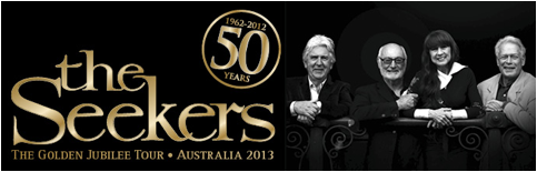 The-Seekers - Golden Jubilee Tour - Australia 2013.