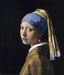 Girl with a Pearl Earring (1665), considered a Vermeer masterpiece. (Photo credit: Wikipedia)