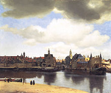 "View of Delft (1660–61) ""He took a turbulent reality, and made it look like Heaven on earth."" (Photo credit: Wikipedia)"