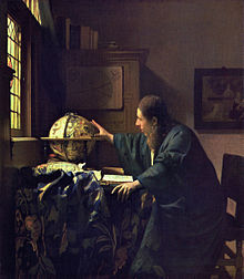 The Astronomer (c. 1668) (Photo credit: Wikipedia)