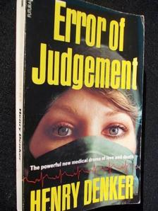"""Error of Judgment"" by Henry Denker"